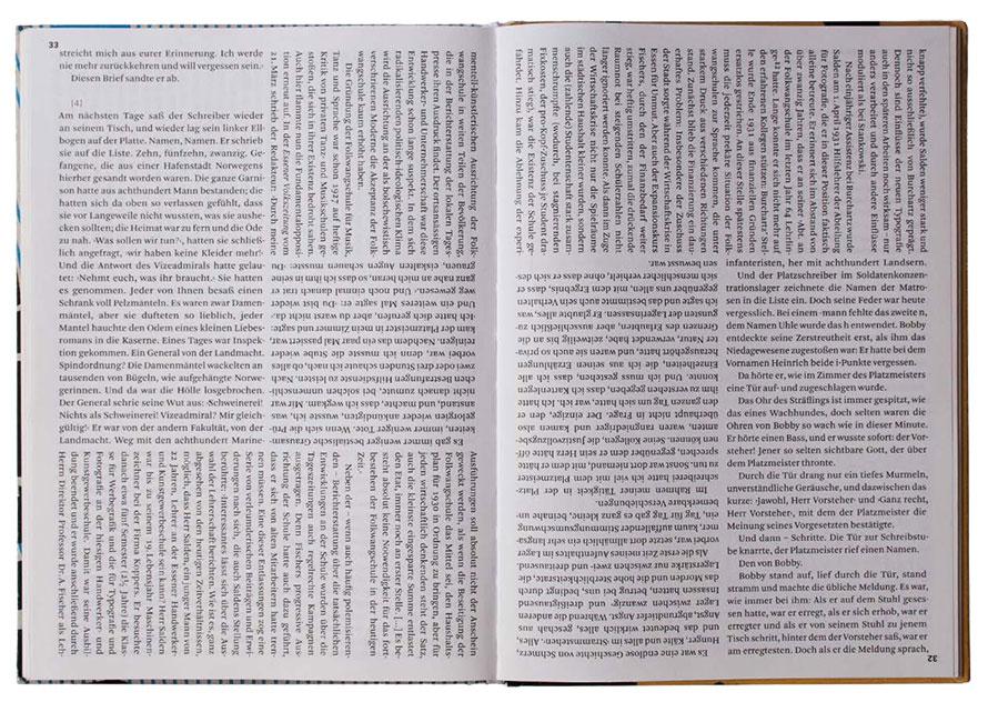 Das Buch »Buch-Gestalten im Exil« entstand 2011 im Rahmen eines Kurses bei Prof. Ralf de Jong an der Folkwang UdK.