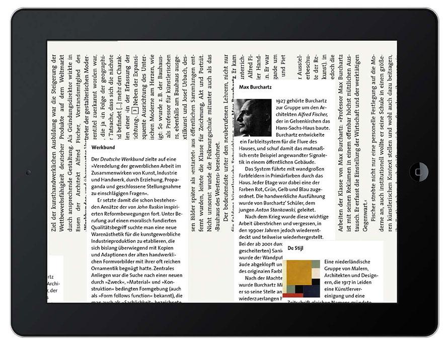 Einen deutlichen Mehrwert zur Print-Ausgabe bieten die vielen Zusatzinformationen der digitalen Ausgabe.