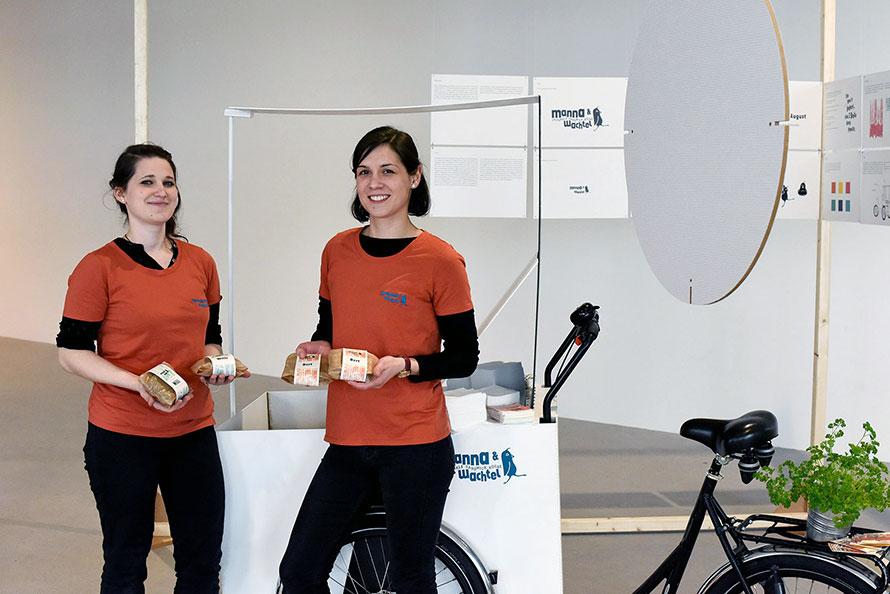 Manna & Wachtel - der mobile Sandwichstand