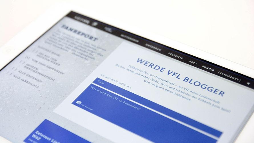 Die Rubrik Fanreport im eMagazin »Mein VFL«