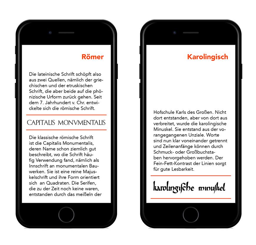 Ein eBook über Schriftgeschichte – Bis zur karolingischen Minuskel