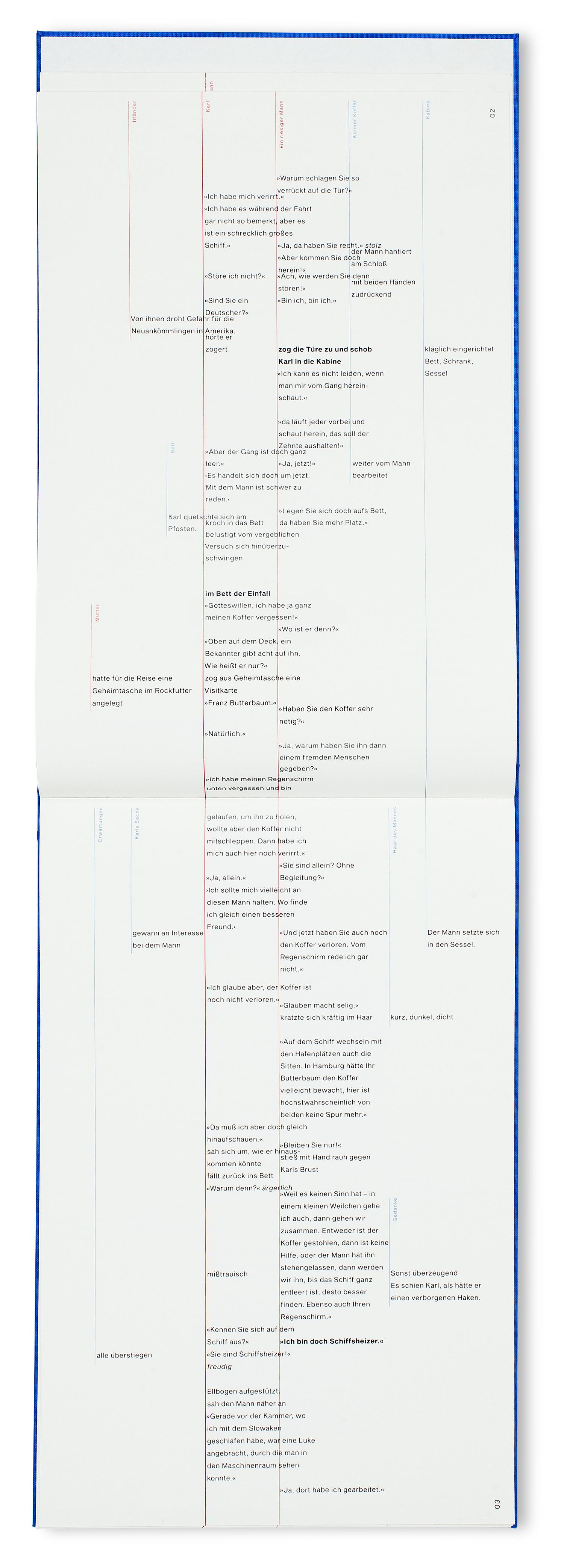 """Repro-Ansicht des Entwurfes """"Der Heizer In Beziehungen erzählt"""""""