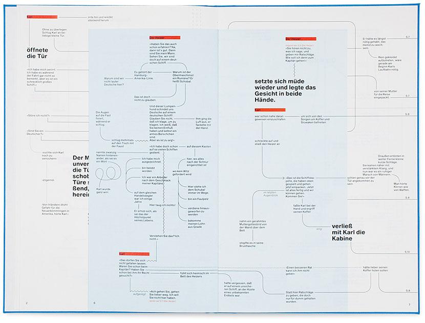 Repro-Ansicht des Entwurfes »Der Heizer räumlich erzählt«